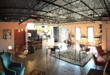 Interior of the Coffee House in Arabi, Louisiana